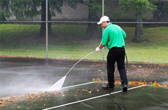 Tennis Court Cleaning service Sadliers Crossing