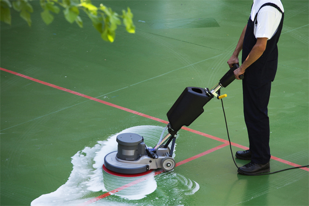 Hard Court Tennis Court Cleaning Sadliers Crossing
