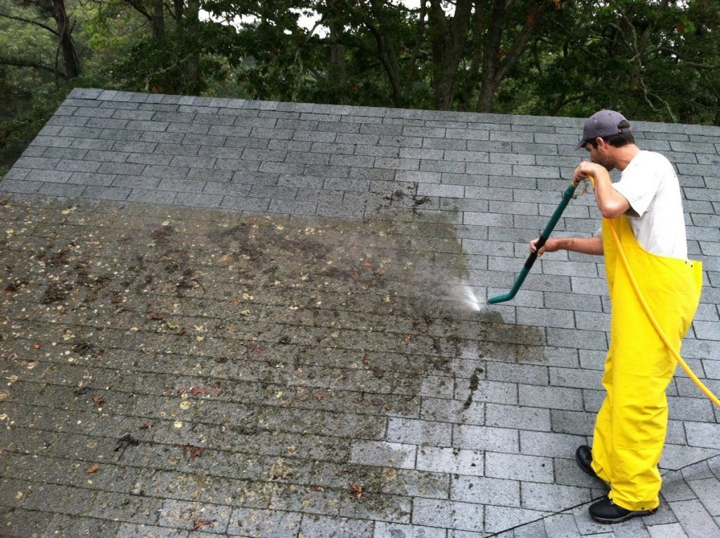 Roof Pressure Cleaning Ipswich
